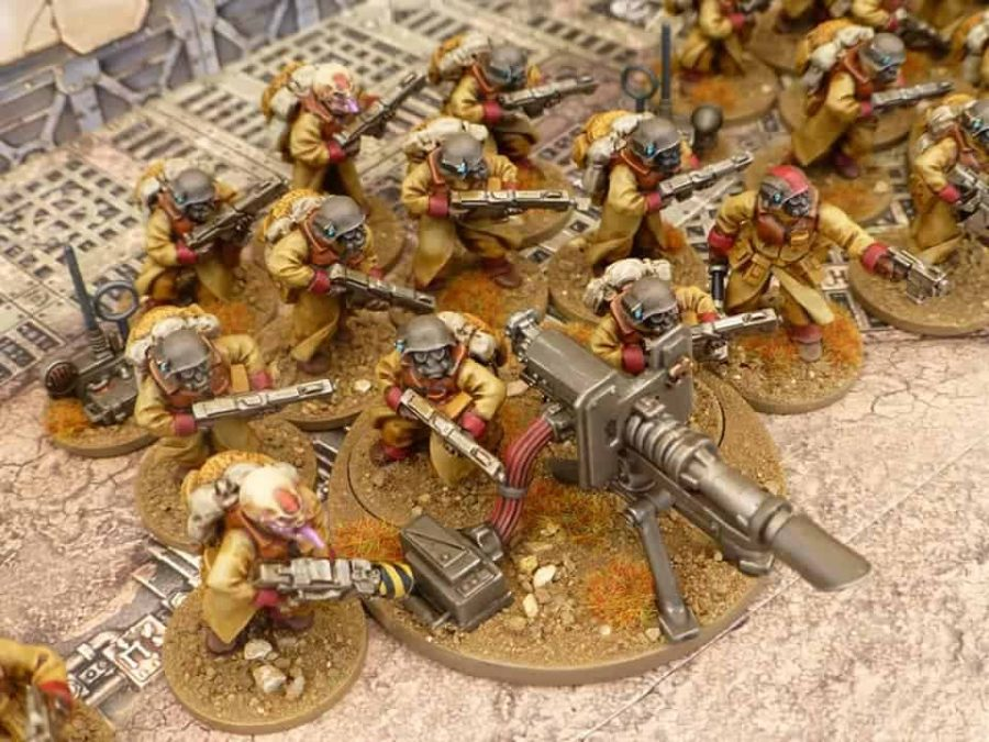 Compatible with many heroic miniatures Build your army your way!